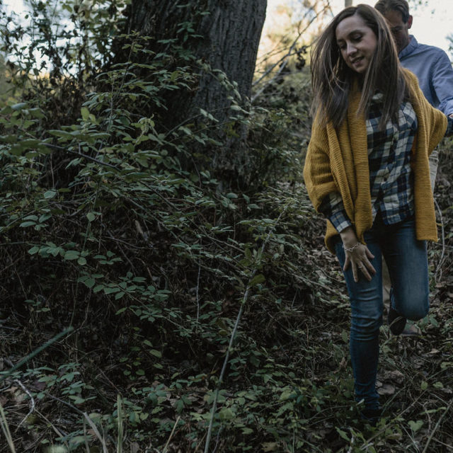Reportaje de preboda en otoño