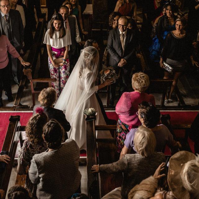 Caminando hacia el altar