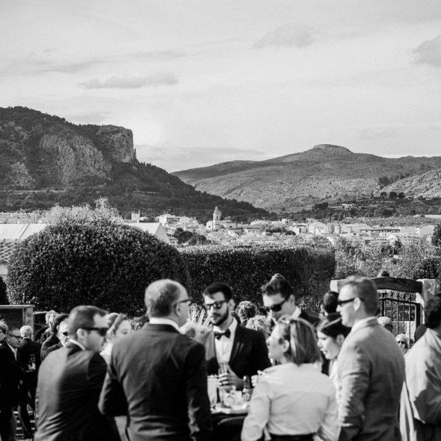 Invitados de boda en Finca El Caserío