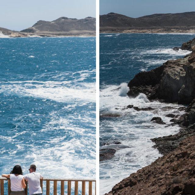 Fotografía de pre boda - Cabo de Gata - Almería
