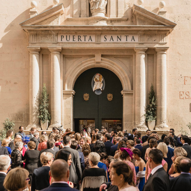 Entrada Concatedral de San Nicolas, Alicante
