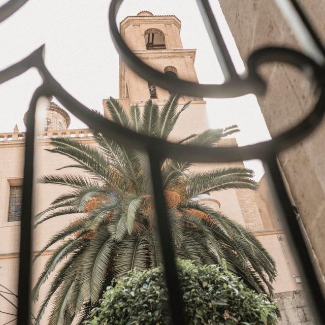 Detalle Concatedral de San Nicolas en Alicante