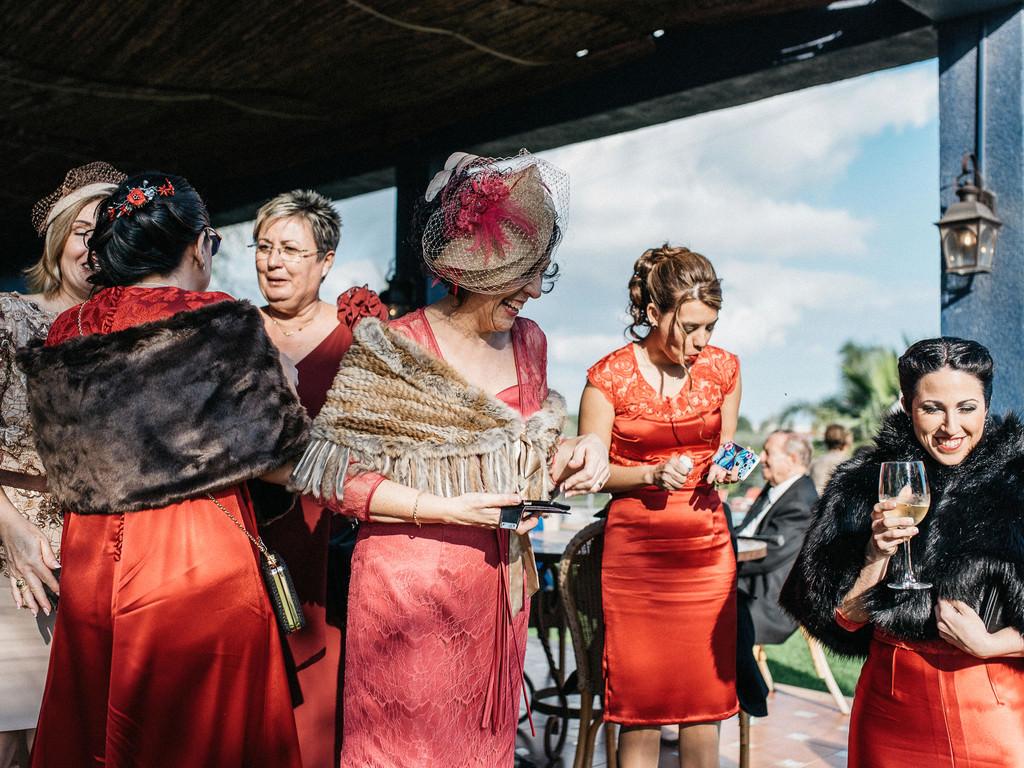 Invitados boda en Finca Bancalito