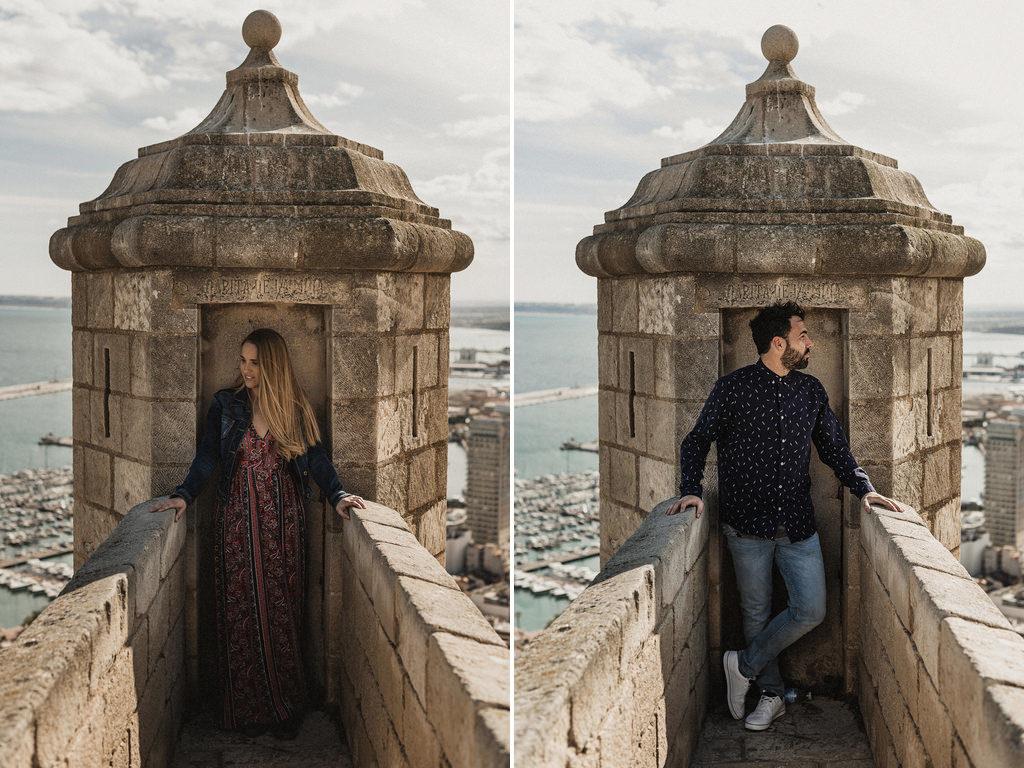 Pre boda en Alicante (Parque de la Ereta) - Cabo Huertas y Castillo de Santa Barbara