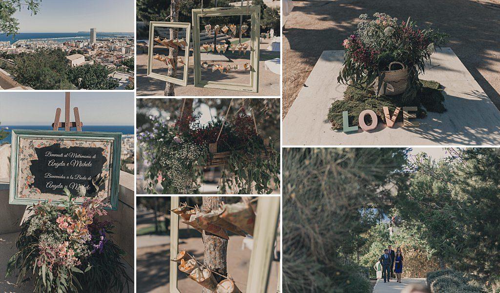 Decoración de bodas Parque de la Ereta