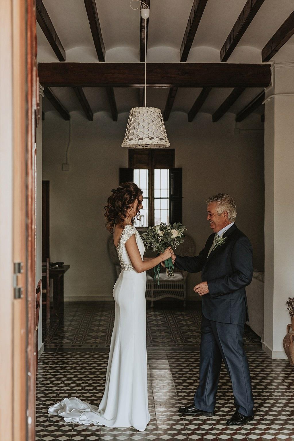 Momentos emotivos de una boda
