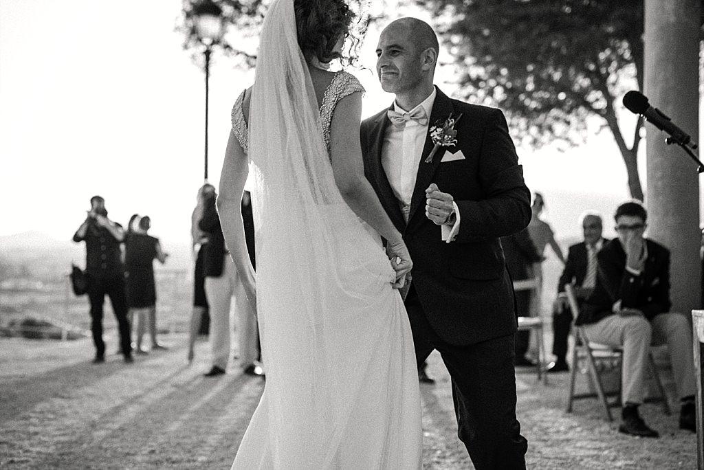 Celebración de boda en Altea