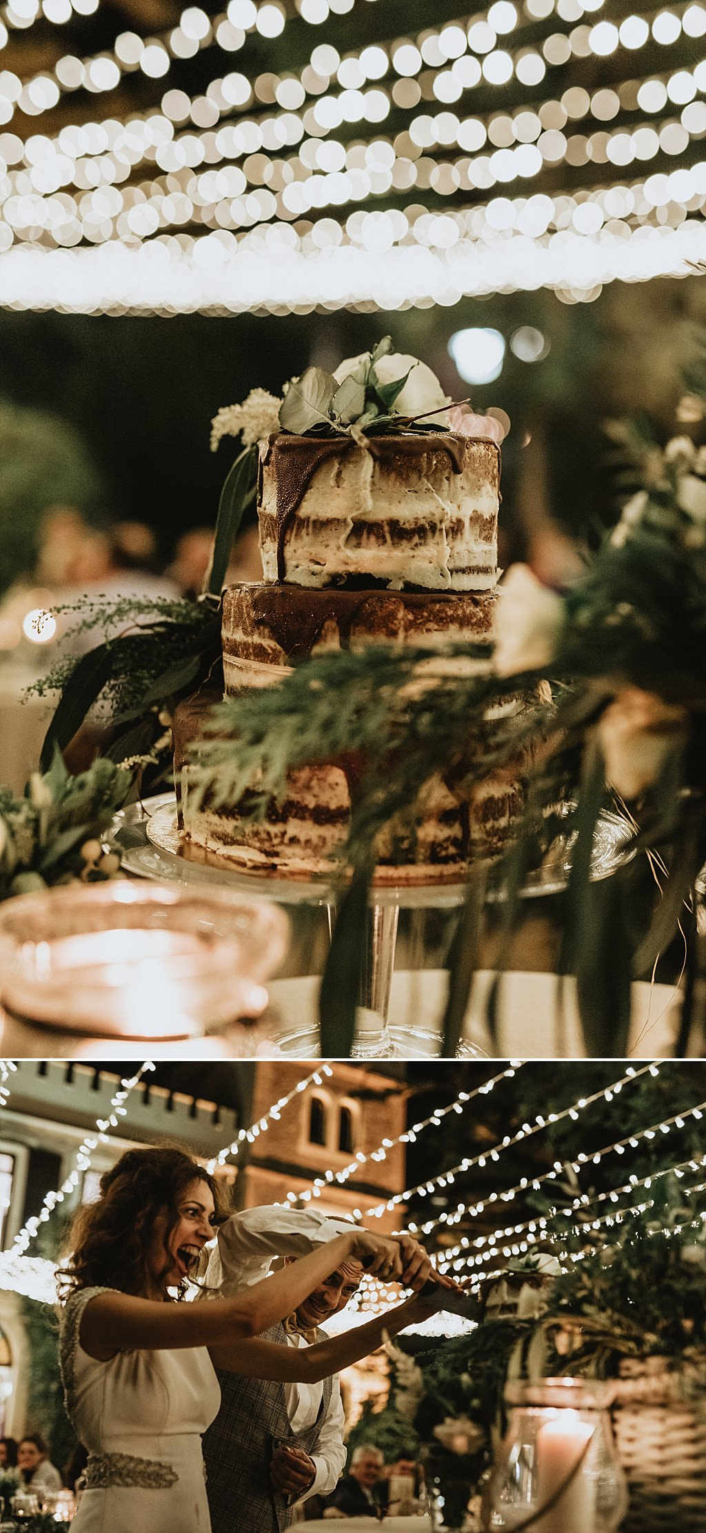 Corte de tarta original