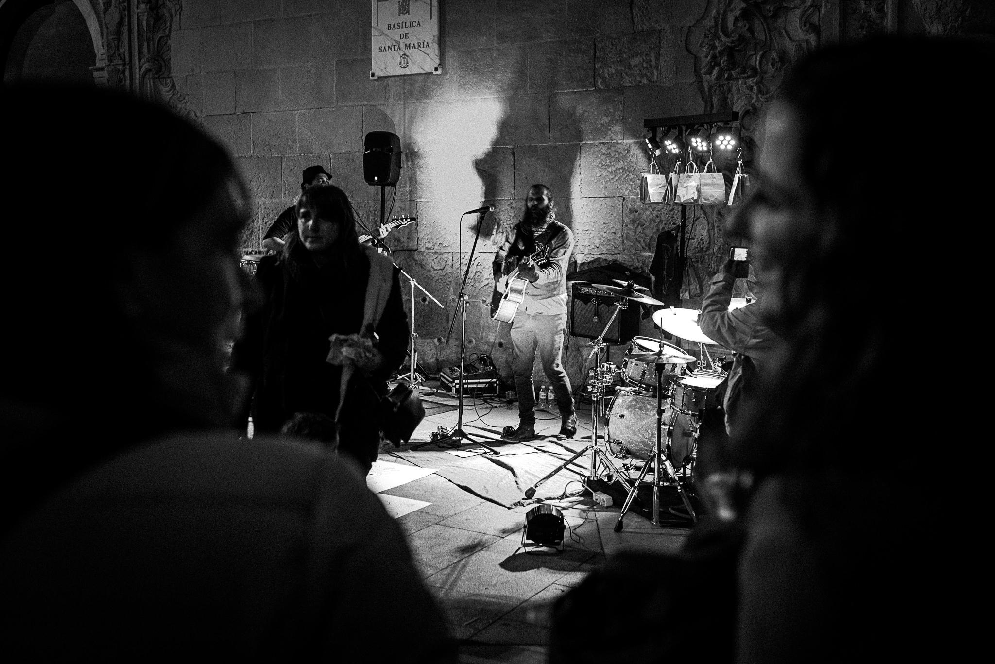 Xeco Rojo en concierto