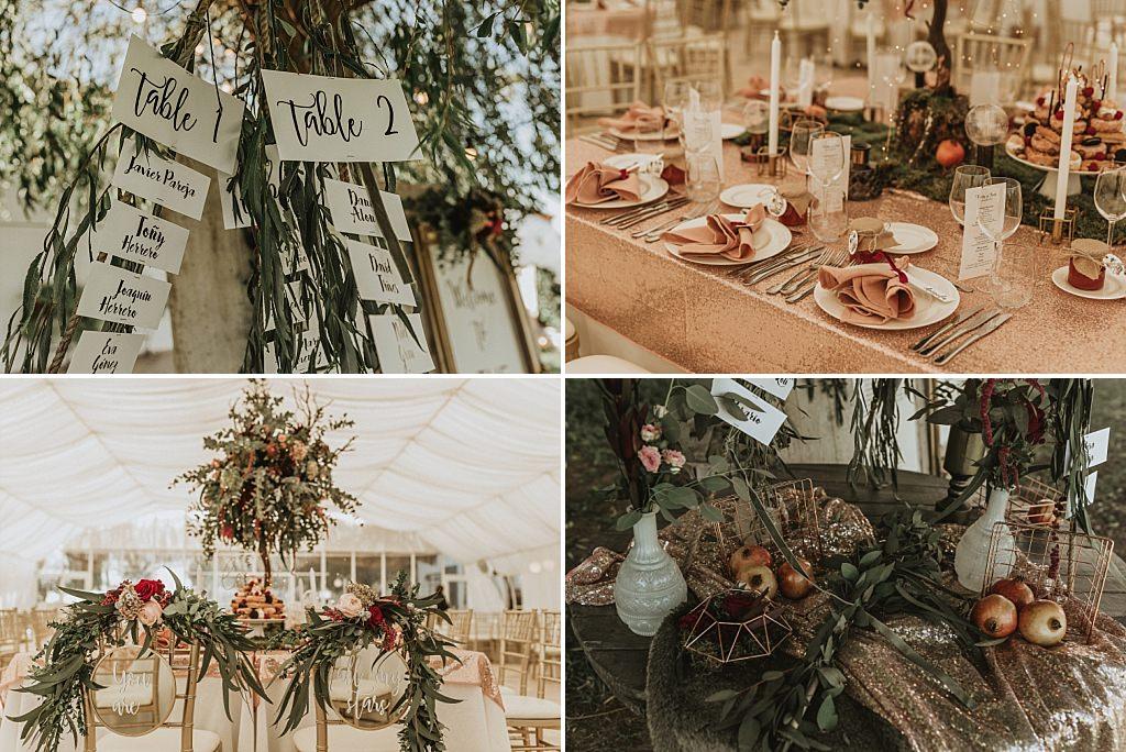 Decoración boda el bancalito
