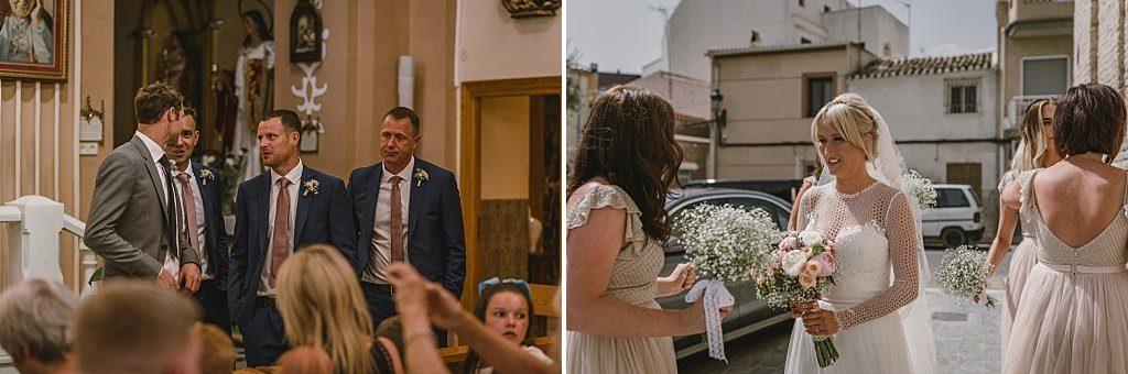 Nervios de boda