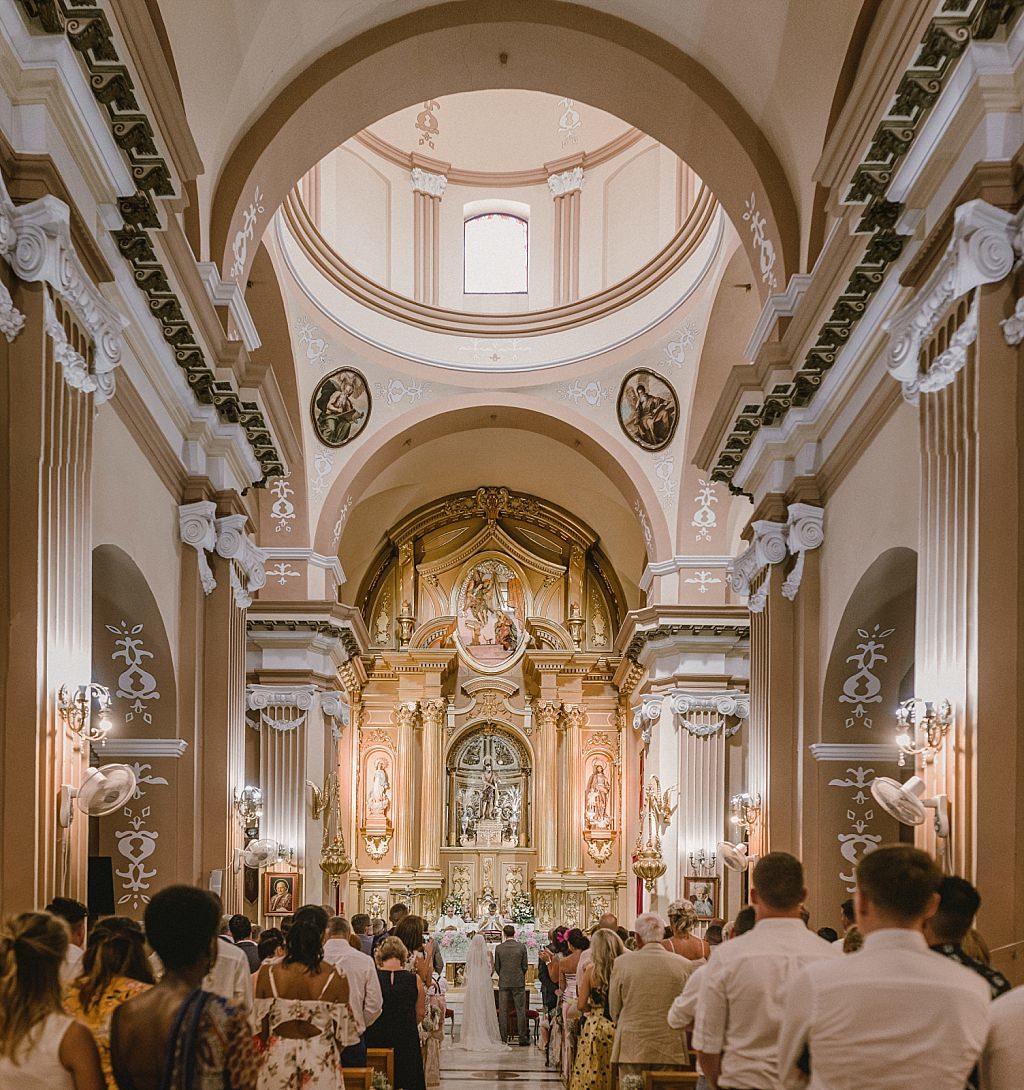 Retablo iglesia de Archena
