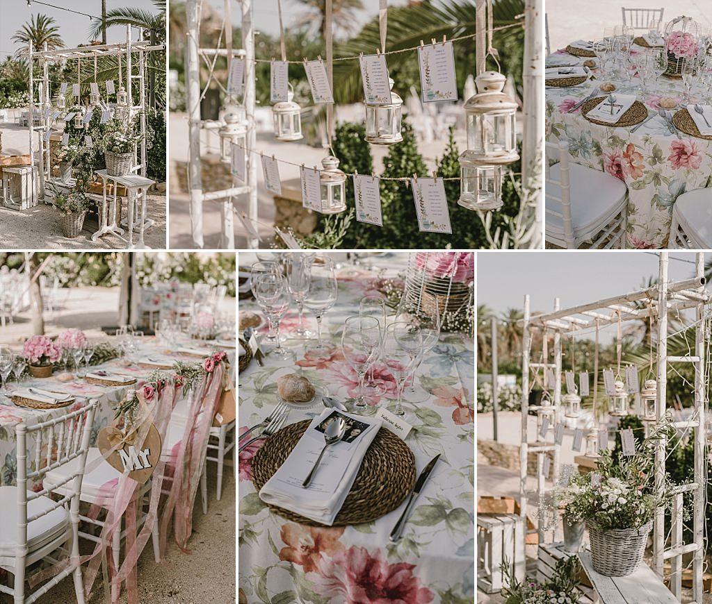 Decoración y sitting de boda en Finca Parque de la Marquesa