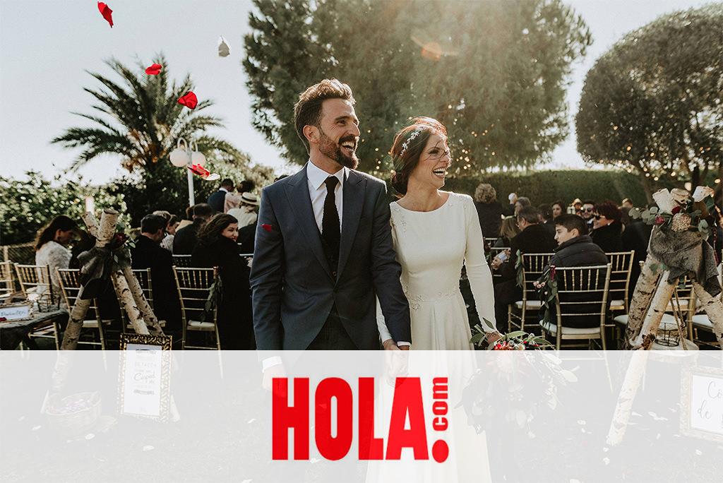 La Boda real de Vicky y José en la sección de sociedad de la revista Hola