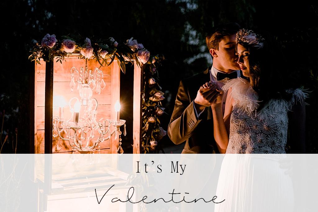 Publicación de la sesión de inspiración Love & Pink en el blog de It's My Valentine