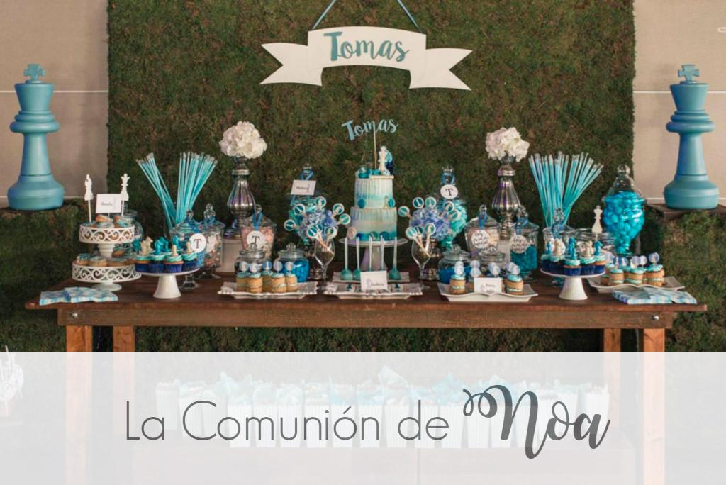 La Comunión de Noa - Comunión de Tomás en Estudio de Ana - Murcia