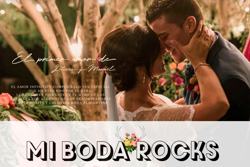 Reportaje fotográfico de Boda Real - Leticia y Manuel para Mi Boda Rocks