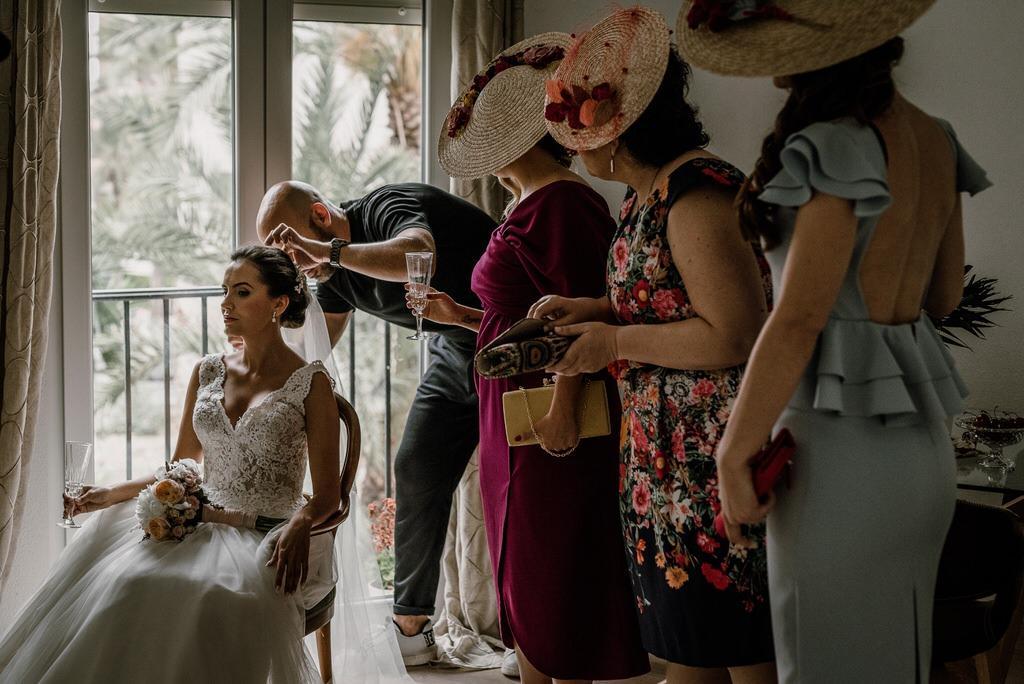 Peluquería de la novia
