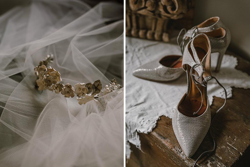 Los accesorios de la novia
