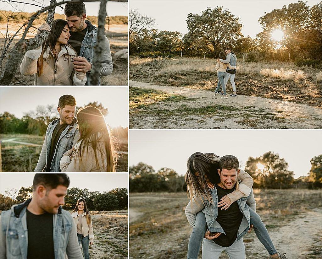 Fotos de pre-boda en otoño