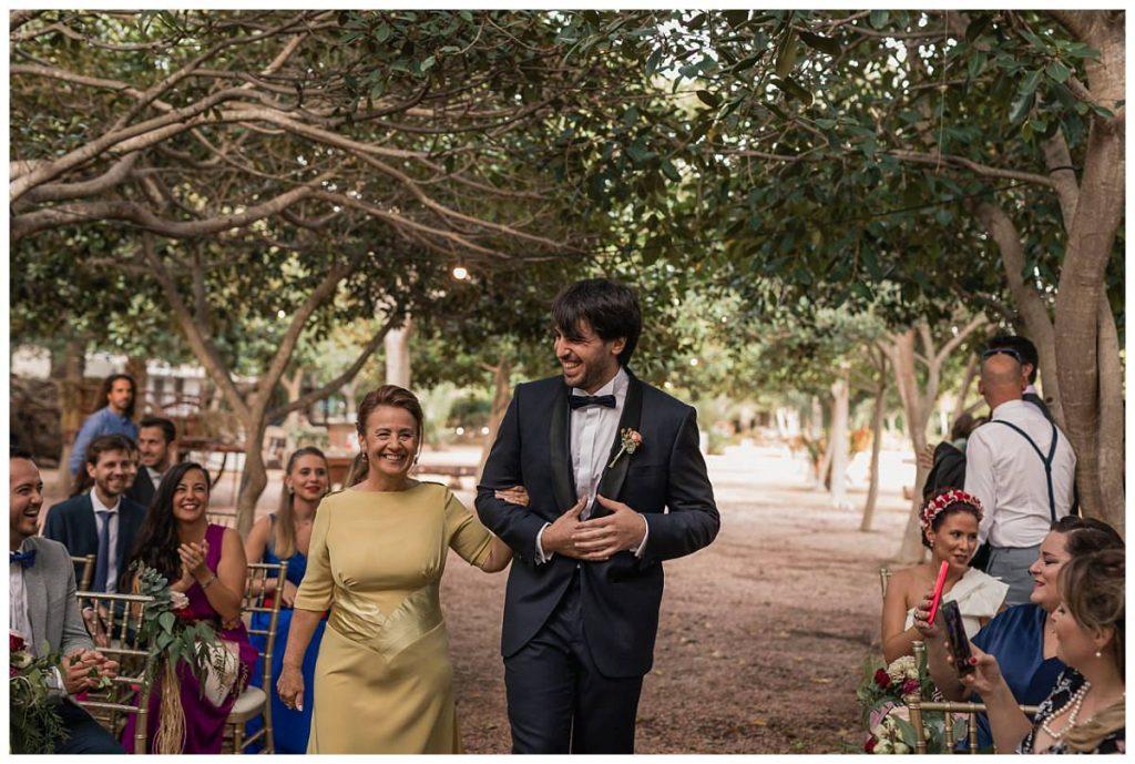 Fotografía de Boda en Finca El Cortijo, Elche - El Novio