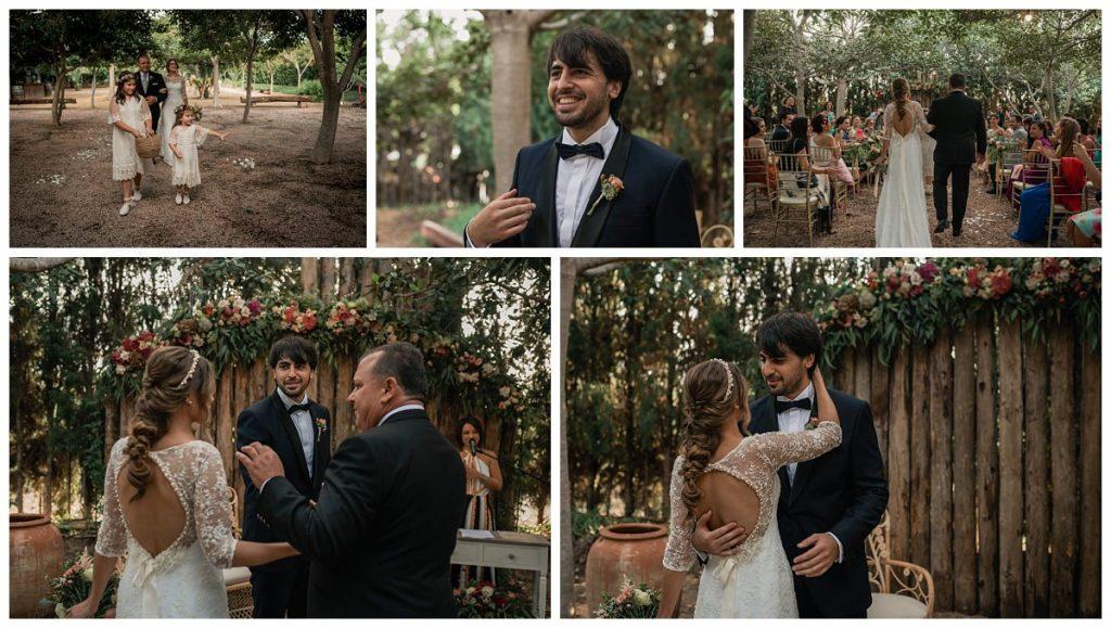 Fotografos de Boda en Finca El Cortijo, Elche - La Ceremonia