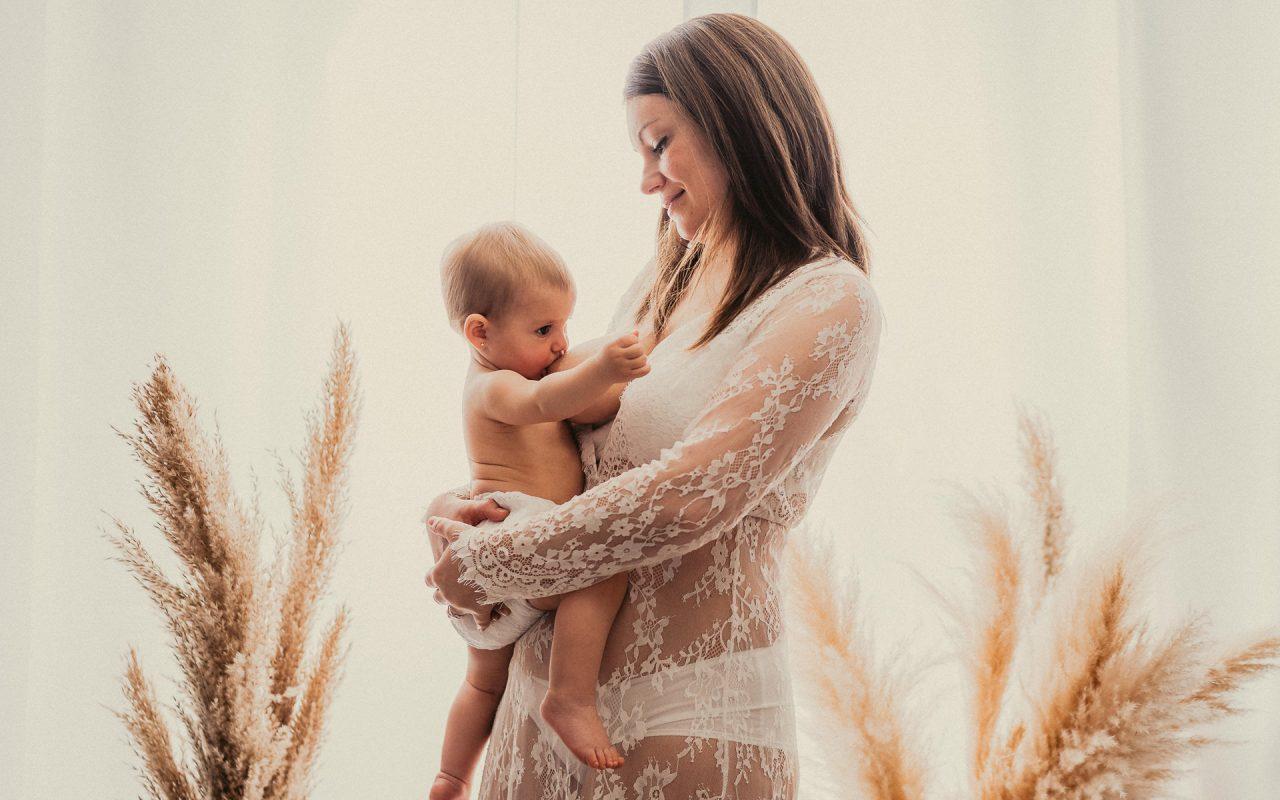 Fotografías para la semana de lactancia materna en Alicante